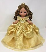 Disney Precious Moments Elegance Belle 12 Doll Beauty And The Beast