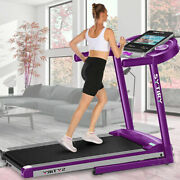 3.25hp Treadmill 3 In 1 Home Electric Folding Running Machine Exercise Y B E 61