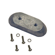 Marine Boat Navalloy Anode Side Mounted