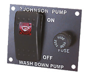 Marine Boat Johnson Control Panel Aqua Jet Deck Wash Pump 24v