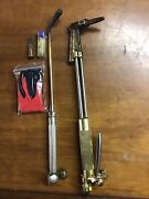 Harris 62-4 Acetylene Cutting Welding Torch Bundle Includes Smith Torch And Gloves