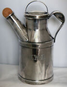 Reed And Barton 64 Oz Vintage Silverplate 25 Milk Jug Can / Cocktail Shaker