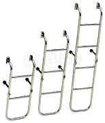 Marine Boat Stainles Steel Bathing Ladder 3-step Fixed Transom Support Tube 20mm