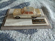 Corgi Rover 2000 Promotional Launch Model And039gold Platedand039 On Plinth Very Rare
