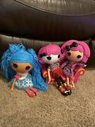 Lalaloopsy Doll Lot With Couch