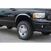 Polished Stainless Steel Fender Trim For 2010-2018 Dodge Ram 1500 Dually