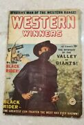 Western Winners 8 Stan Lee Rare Canadian Edition Of Black Rider 8 Superior
