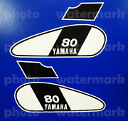 1975 75and039 Yamaha Gt 80b Enduro 4pc Fuel Tank Decal Graphic Mx Stickers Motorcycle