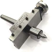 Taper Turning Attachment In 2mt Shank With Revolving Live Center -usa Fulfilled