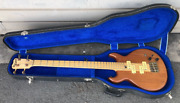 Sd S.d. Curlee Vintage 1980andacutes Bass Gitarre Guitar W/ Grover And Case Rare 1980andacutes