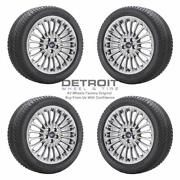 18 Ford Fusion Pvd Bright Chrome Wheels Rims And Tires Oem Set 4 2013-2019 3961