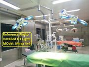 Surgical And Examination Ot Lights Led Operation Theater Surgery Light Double Dome