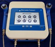 New Low Level Laser Therapy Red And Ir 2 Probes Touch Screen 120 Programs Lock