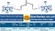 Star Examination Ot Light Operation Theater Led Surgical Operating Lamp 105+105