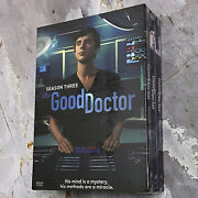 The Good Doctor Complete Season 1-3 Dvd15-discregion 1 Fast Shipping