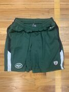 Nike Nfl Equipment New York Jets Authentic Shorts Green On Field Dri-fit Large