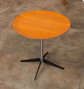 George Nelson For Herman Miller Round Side Table Vintage 1950s