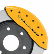 Mgp Caliper Covers Block Style For 2011-2020 Dodge Challenger Se/sxt-yellow