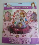 Sofia The First Table Decorating Kit With Confetti Birthday Party Supplies
