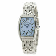 Franck Muller Tonocar Vex Watches 1752qz Stainless Steel/stainless Steel Ladies