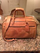 Hartmann Luggage Belting Leather 21 Outing Bag Duffel Carry-on Duffle Gym Bag