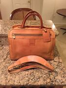 Hartmann Rare Belting Leather Luggage Briefcase Duffel Carry On Made In Usa