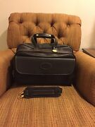 Atlas Super Rare Leather Luggage Briefcase Duffel Carry On Made In Usa