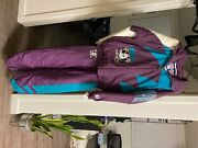 Rare Vintage Mighty Ducks Tracksuit Deadstock Size M Logo Athletic. Labeled Xlandnbsp