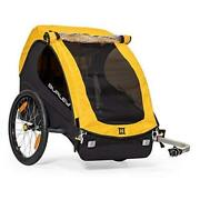 Burley Bee 1 And Lightweight Kid Bike-only Trailer 2 Seat Yellow