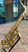 Selmer Super Action 80 Alto Sax In Series Bell Engraved