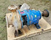 Goulds Cast Iron Industrial 3175 Centrifugal Pump 4-6x18 Size