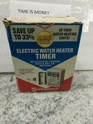 Intermatic Electric Water Heater Timer Wh21 W/ External Override Switch13eb2