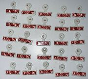 Vintage 1968 Robert Bobby F Kennedy Rfk Campaign Tab Button Lot 25 Political