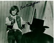Kris Kristofferson Signed Autographed Pat Garrett And Billy The Kid Photo