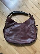 Tom Ford For Ysl Yves Saint Laurent Brown Leather Mombasa With Horn Handle
