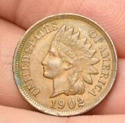 Raw Choice Or Better 1902 Indian Head Small Cent Easy To See Liberty