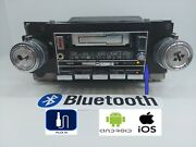 1978-1987 Gm Cassette Radio W/ Bluetooth And Aux Chevy Truck Pontiac Am Fm Stereo