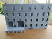 1 N Scale Mill Warehouse Factory 3d Printed. Backdrop Background