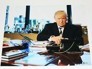 President Donald J Trump Signed 11x14 Photo Beckett Coa Make America Great Again