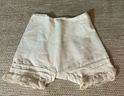 Antique Doll Clothes For French German Bisque Doll Under Garment Wear Pantaloon