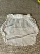 Antique Doll Clothes For French German Bisque Doll Under Garment Panties