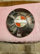 Vintage 1966andndash73 Dog Dish Hubcap Jeepster Excellent Condition