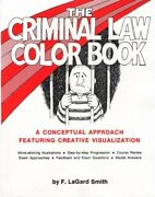 Criminal Law Color Book By F. Lagard Smith Excellent Condition