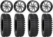 Msa Machined Switch 20 Wheels 33 Xt400 Tires Can-am Renegade Outlander