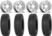 Kmc Mesa Lite 15 Wheels Machined 35 X Comp At Tires Can-am Defender