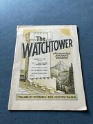 The Watchtower Announcing Jehovah Kingdom December 15, 1969 Volume Xc Magazine