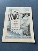 The Watchtower Announcing Jehovah Kingdom May 1, 1969 Volume Xc Magazine