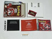Pokemon Ruby Version + Saves - Complete Gameboy Advance Gba Authentic