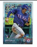 Joey Gallo 2015 Topps Chrome Update Us103 1st Rc Sparkle Refractor Texas Rangers