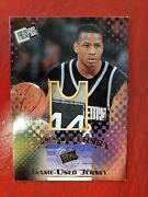 Allen Iverson 1996-97 Press Pass Game-used College Jersey Rc Nike Size Tag